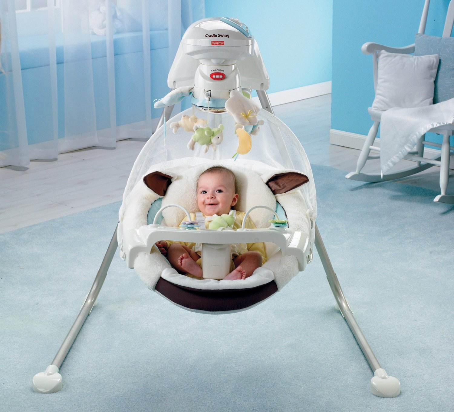 Image babyswingguideforgirl - Best baby swings for small spaces image ...